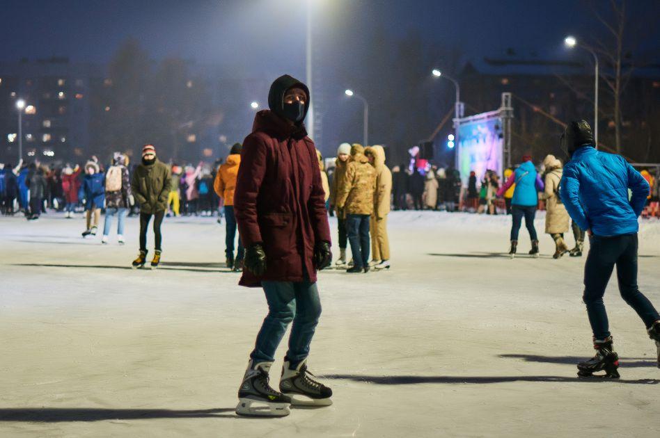 День студента в Иркутске отметили дискотекой на льду