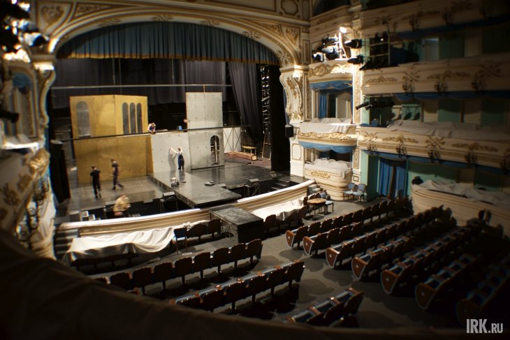 В иркутском драмтеатре. Фото Маргариты Романовой, IRK.ru