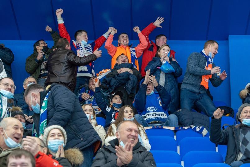 Игроки «Байкал-Энергии», что поддержка болельщиков была важна для команды в эмоциональном плане