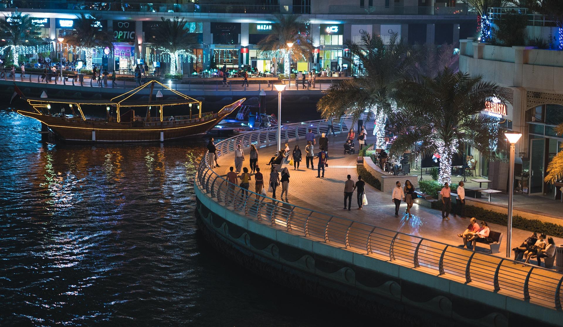 Дубай. Фото с сайта pixabay.com