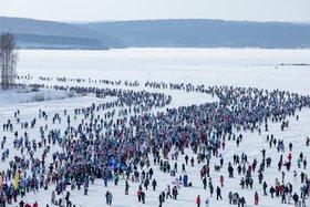 Массовый забег «Лыжни России» в Иркутской области в 2019 году. Фото организаторов