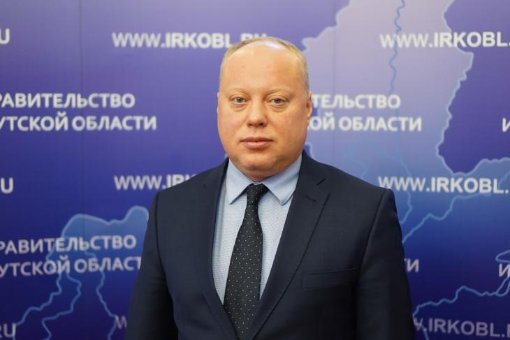 Дмитрий Петренев. Фото пресс-службы правительства Иркутской области
