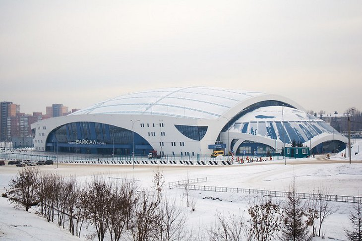 Ледовый дворец «Байкал». Фото Маргариты Романовой, IRK.ru