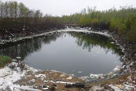 Пруд-накопитель в 2019 году. Фото пресс-службы Байкальской межрегиональной природоохранной прокуратуры