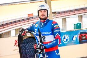 Семен Павличенко. Фото пресс-службы Федерации санного спорта России