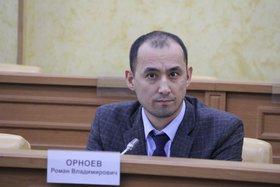 Роман Орноев. Фото пресс-службы адимнистрации Иркутска