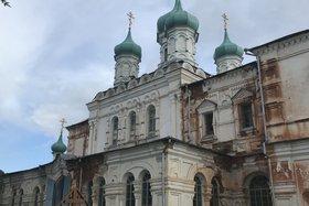 Собор Воскресения Христова в селе Верхоленск. Фото пресс-службы правительства Иркутской области