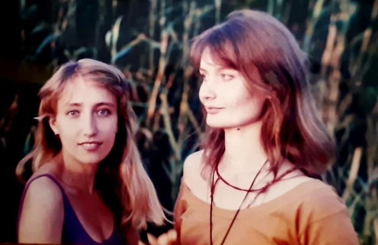 Татьяна Пальвинская (слева) с подругой