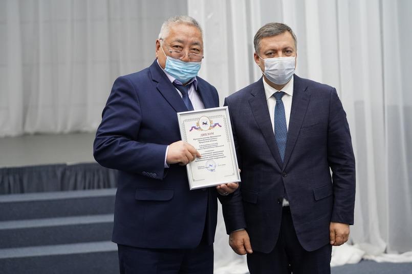 Анатолий Табинаев, мэр Баяндаевского района