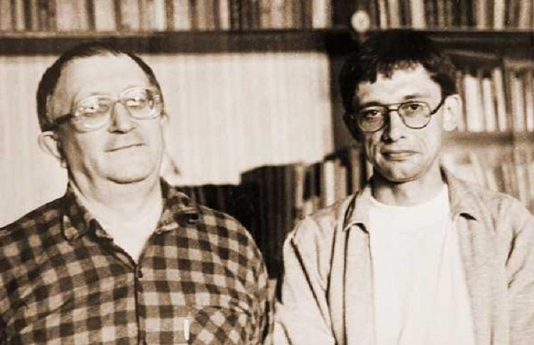 Борис Стругацкий и Сергей Язев. В 1994 году астроном брал интервью у писателя-фантаста