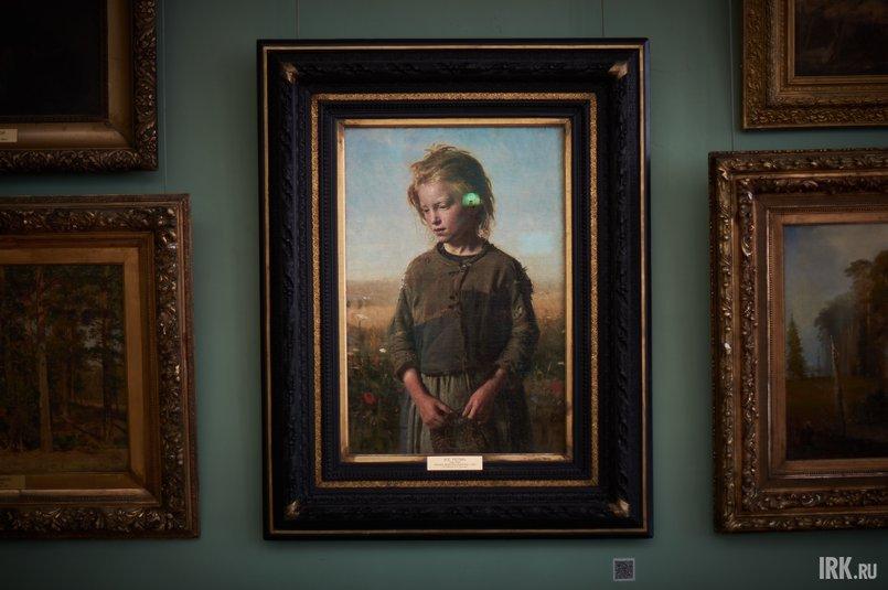 Картина написана Репиным в 1874 году во французском городе Вёль
