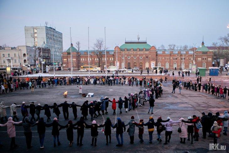 Глобальный ёхор в Иркутске. Фото Анастасии Влади, IRK.ru