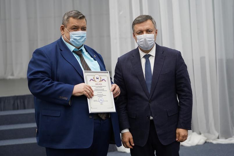 Олег Боровский, мэр Саянска