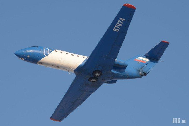 Як-40. Фото Алексея Коршунова, IRK.ru