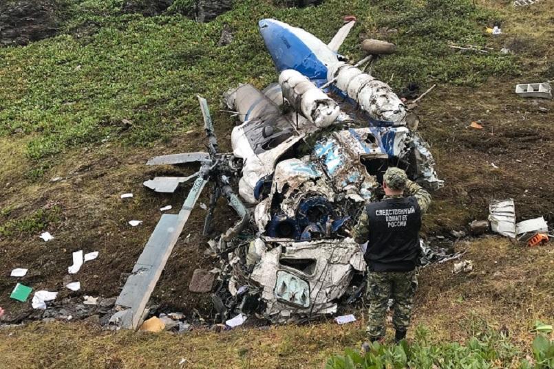 Крушение вертолета Ми-8 в Казачинско-Ленском районе