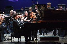 Денис Мацуев и Российский национальный молодежный симфонический оркестр. Фото со страницы РНМСО в «Инстаграме»