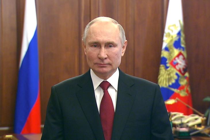 Владимир Путин. Фото пресс-службы Кремля
