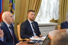 На заседании. Фото пресс-службы думы Иркутска