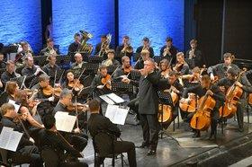 Оркестр Мариинского театра на фестивале в 2015 году. Фото Игоря Сирохина