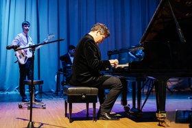 Денис Мацуев, Илья и Константин Слученковы. Автор фото — Артём Моисеев