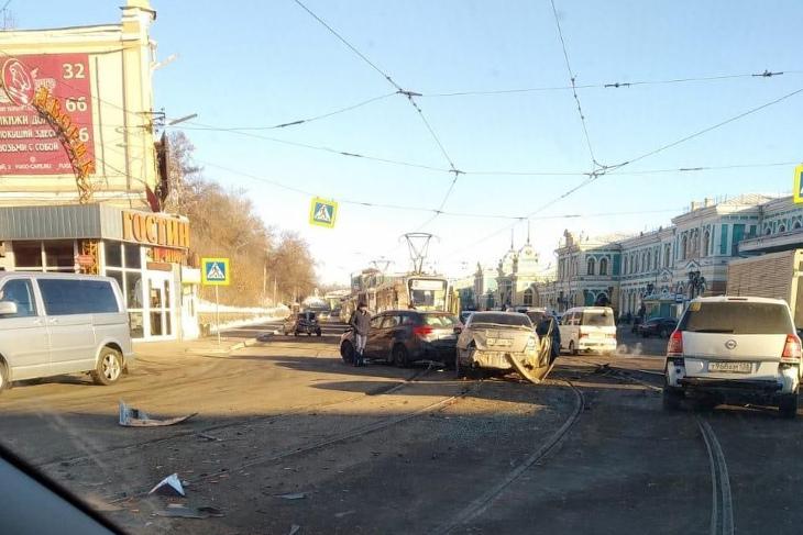 На месте ДТП. Фото из группы «ДТП 38RUS»