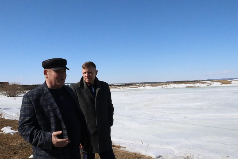 Олег Парфёнов, глава Оекского муниципального образования