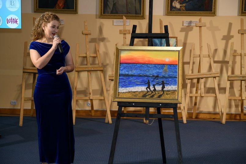 «Счастье», художник - Анастасия Скочилова. Мечтами делилась Алиса, 4 года
