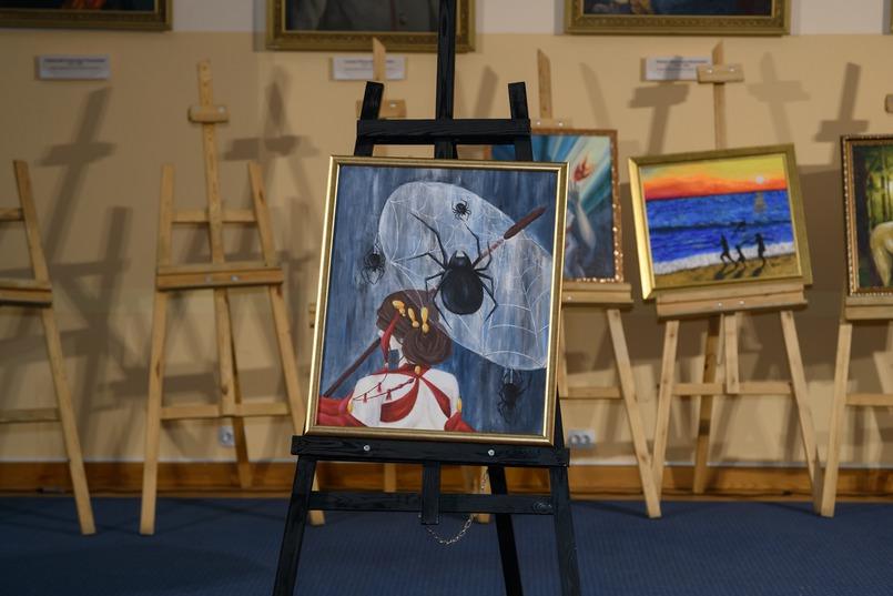 «Паутина желаний», художник - Надежда Радионова. Мечтами делился Дмитрий, 16 лет