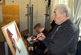 Выставка памяти художника Александра Веснина
