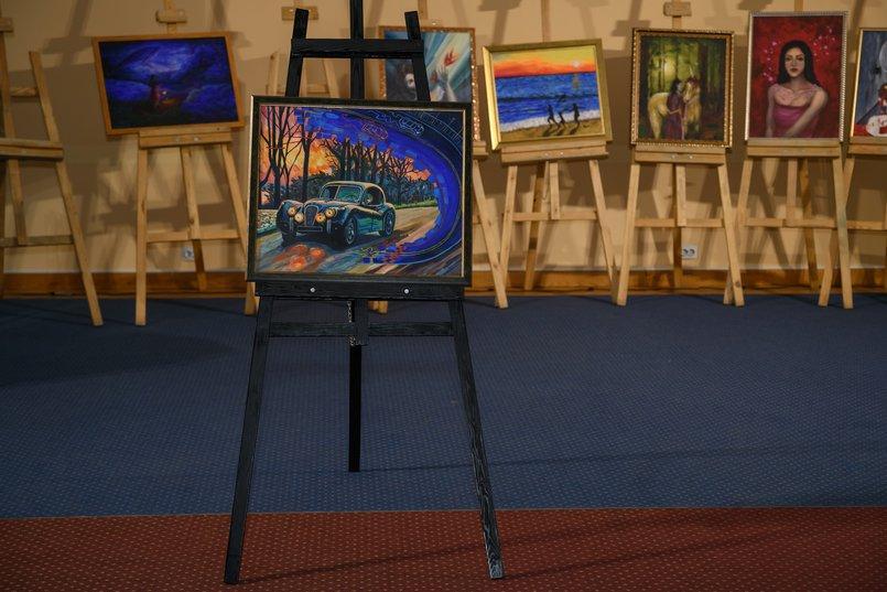 «Шоссе блюз», художник - Мария Скочилова. Мечтами делился Тимофей, 1 год