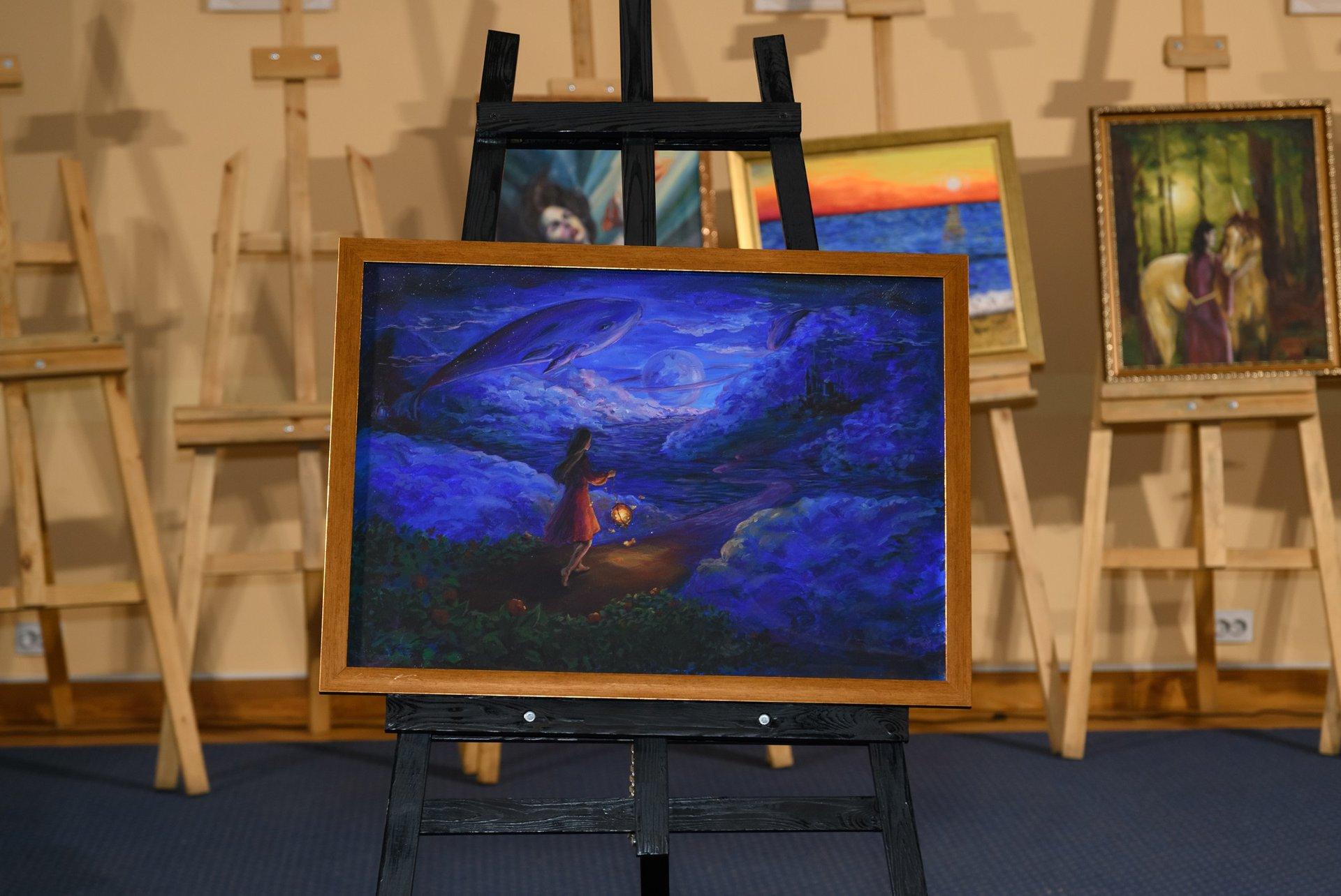 «На пути к мечте», художник - Полина Керейша. Мечтами делилась Дарья, 17 лет