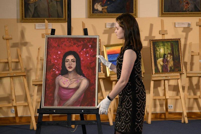 «Музицирование души», художник - Ксения Кулакова. Мечтами делилась Лиза, 12 лет