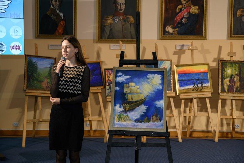 «Летучий корабль», художник - Анна Зырянова. Мечтами делился Данил, 11 лет