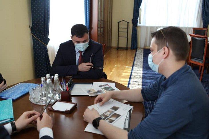 Фото администрации Иркутска