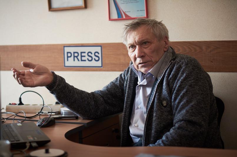 Уже 20 лет Николай Михайлович руководит фотослужбой газеты «Восточно-Сибирская правда»