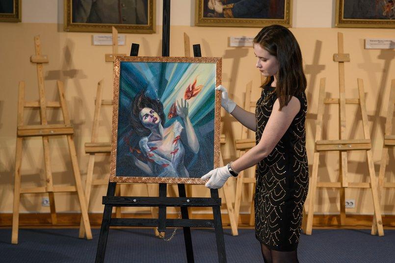 «Твой сон», художник - Анна Егорова. Мечтами делилась: Доминика, 3 года