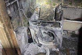 Два человека пострадали при возгорании стиральной машины в Братске