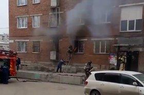 фото В Ново-Ленино не успели спасти пострадавшего при пожаре из-за решеток на окнах