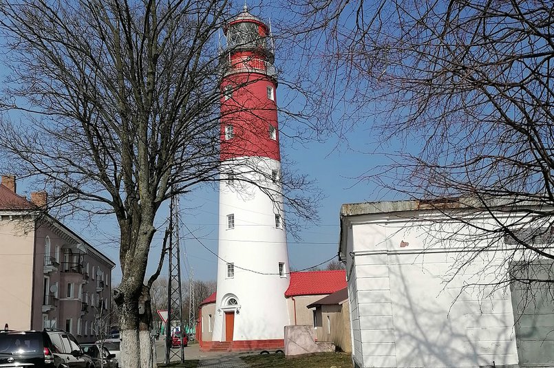 Маяк в Балтийске, самый западный маяк в России. Построен в 1813—1816 годах
