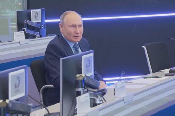 Владимир Путин. Скриншот видео с сайта kremlin.ru