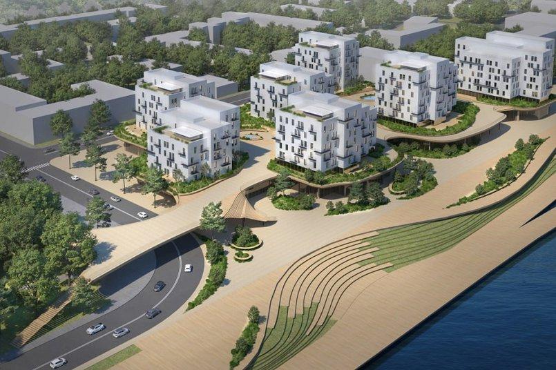 Концепция проекта Цесовской набережной