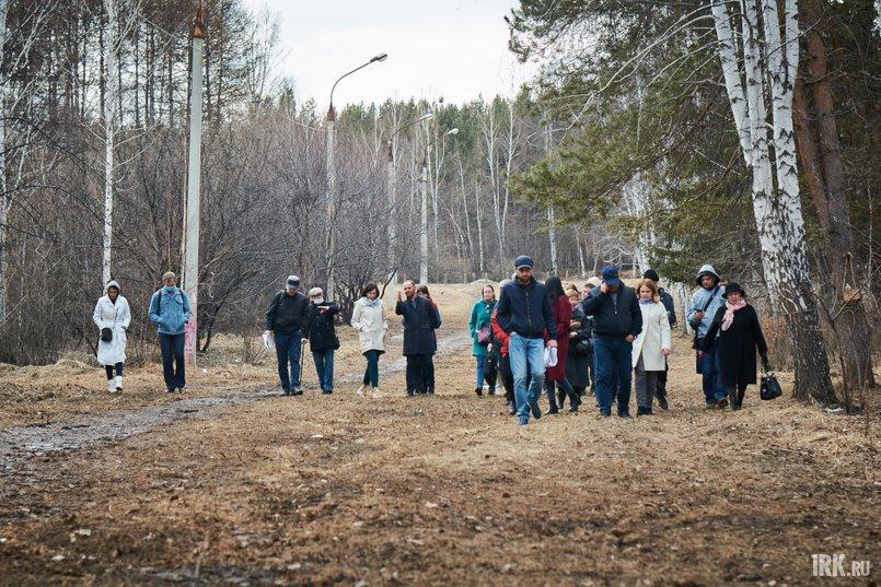 Собравшиеся решили пройтись по альтернативному маршруту