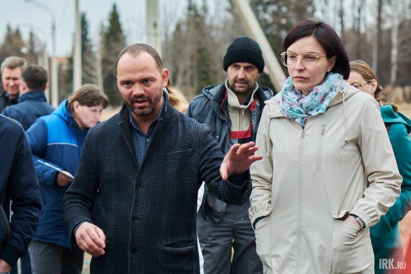 Александр Сафронов и Марина Шевела