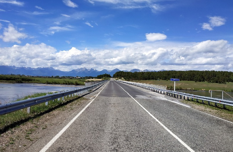 По дороге в Аршан