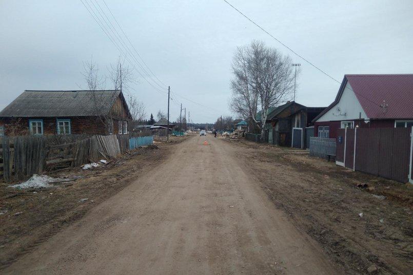 ДТП в поселке Шиткина Тайшетского района