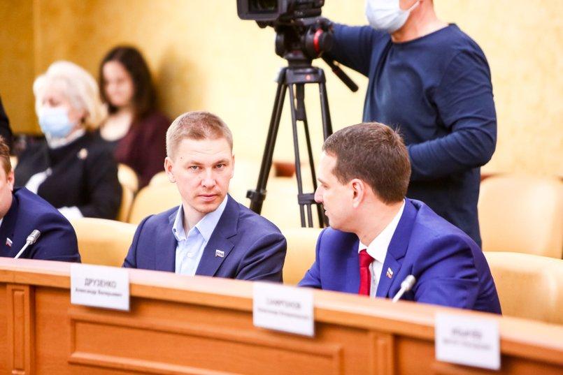 Максим Девочкин. Фото пресс-службы Думы Иркутска