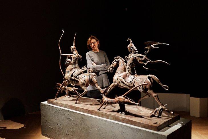 В Галерее Виктора Бронштейна всегда можно побыть наедине с собой. Фото предоставлено галереей