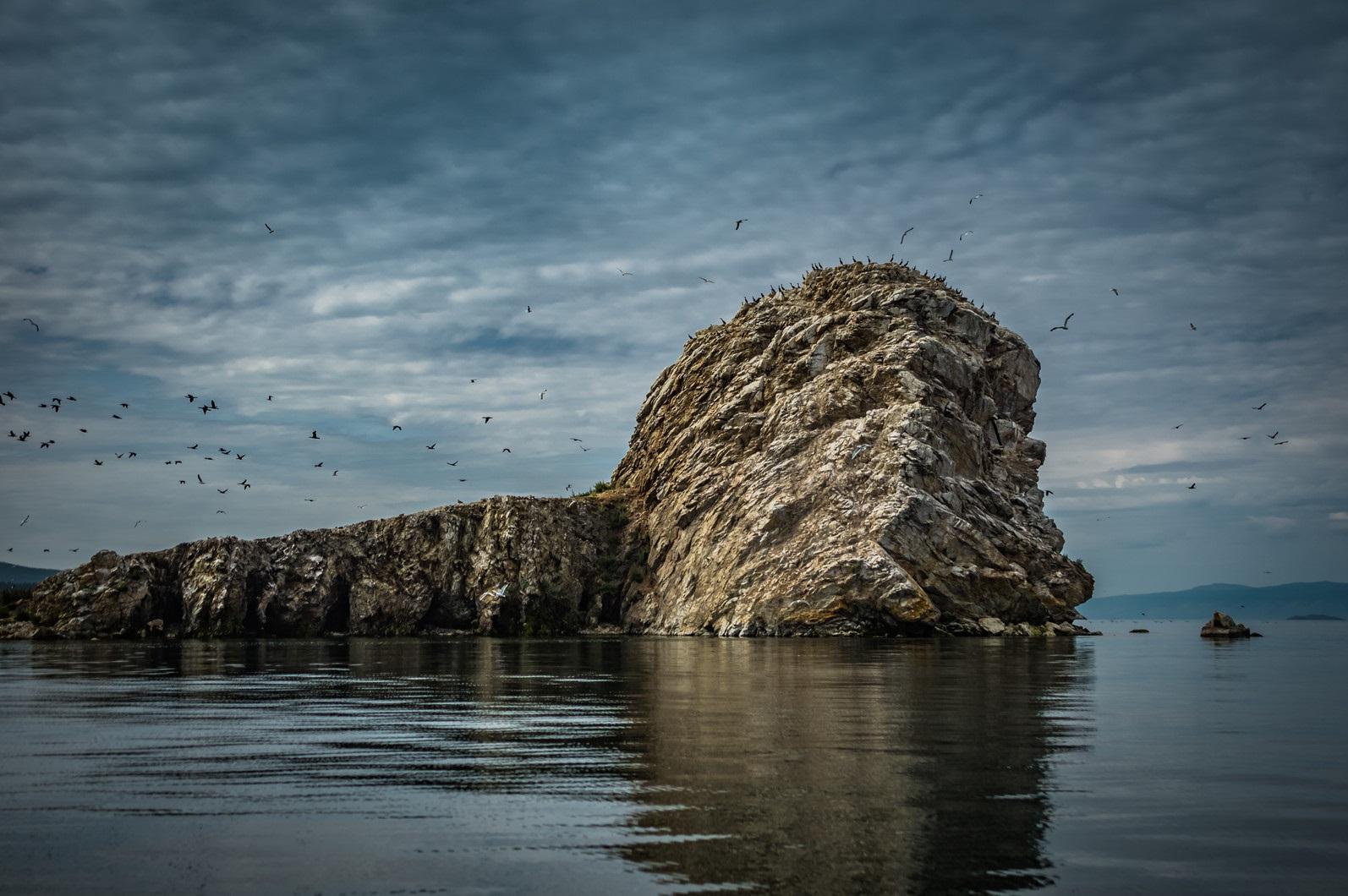 Остров Бакланий. Фото с сайта 1baikal.ru