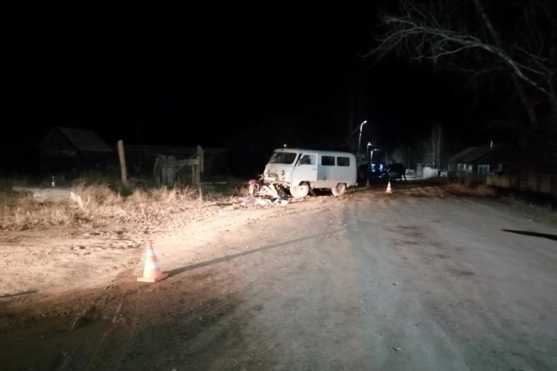 ДТП в поселке Казарки Усть-Кутского района