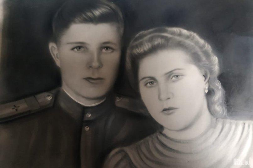 Иван Прядко и его будущая супруга Анна Назарова